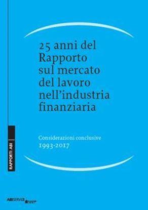 Immagine di 25 anni del Rapporto sul mercato del lavoro nell'industria finanziaria